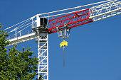 crane construction site new apartments