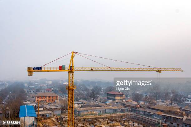 crane - liyao xie stock pictures, royalty-free photos & images