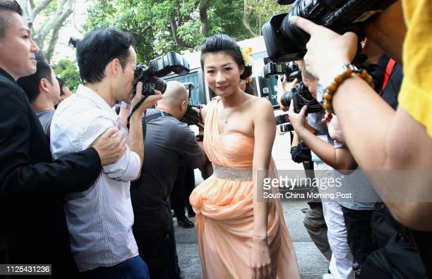 Cranes filled with paparazzi were stationed outside the Fok family mansion on Sasson Road yesterday morning, trying to catch a glimpse of the wedding...