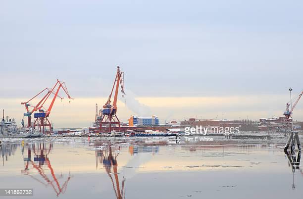 Cranes, Gothenburg Harbour, Sweden