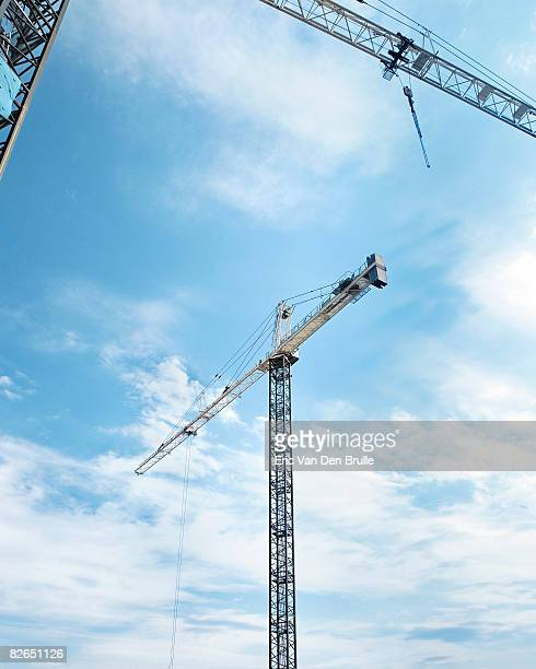 cranes - eric van den brulle stock pictures, royalty-free photos & images