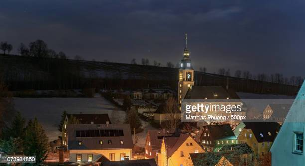 cranzahler kirche - kirche stock pictures, royalty-free photos & images
