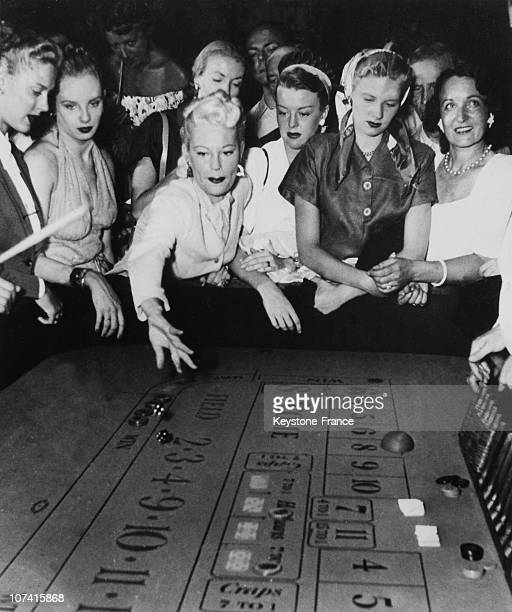Craps Games In Monte Carlo Casino On July 21St 1949