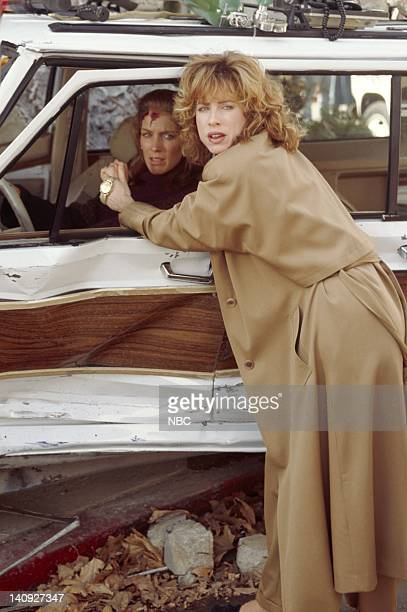 SISTERS Crash and Born Episode 8 Aired 11/14/92 Pictured Patricia Kalember as Georgie Whitsig Julianna Philips as Frankie Reed Margolis Photo by Paul...