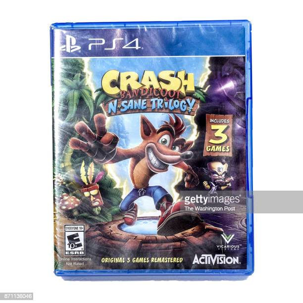 Crash Bandicoot video game trilogy one of the items for the Post's annual gift guide on October 2017 in Washington DC