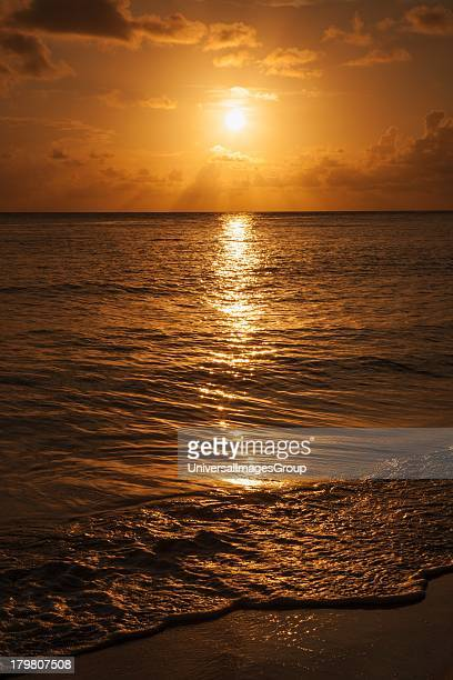Crash Boat Beach Puerto Rico sunset
