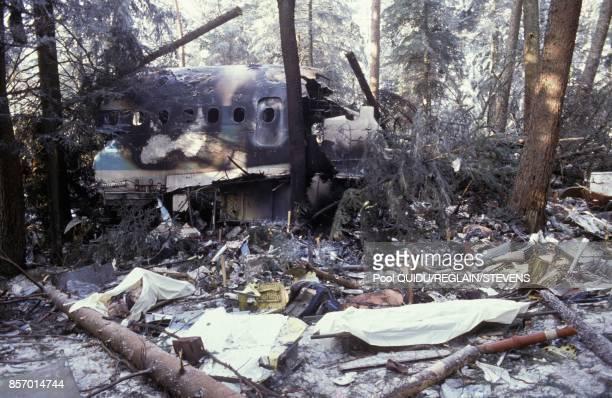 Crash de l'Airbus A 320 dans les Vosges le 21 janvier 1992 en France