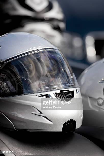 crash helmet - andrew dernie stock pictures, royalty-free photos & images