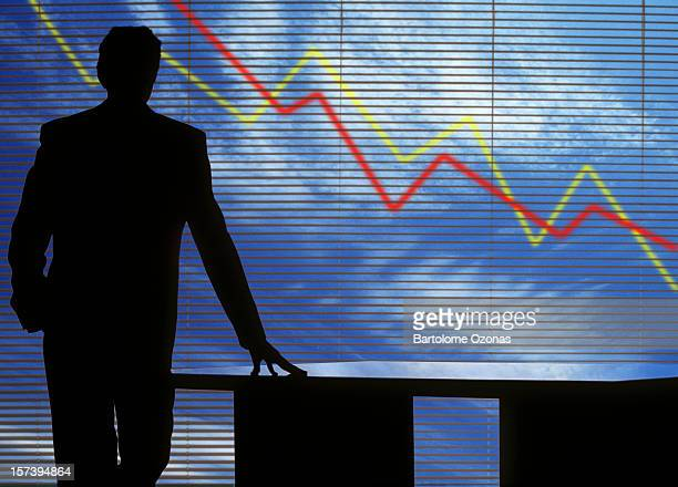 crash in financial crisis - decline stock pictures, royalty-free photos & images