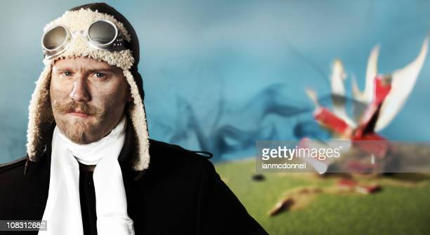 crash - aviation hat stock photos and pictures