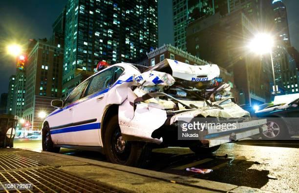 Crashed Voiture de Police