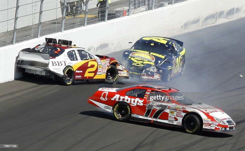 NASCAR - Busch Series - Sam's Town 300 - March 10, 2007 : News Photo