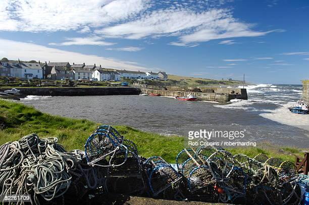 Craster harbour, Northumberland, England, United Kingdom, Europe