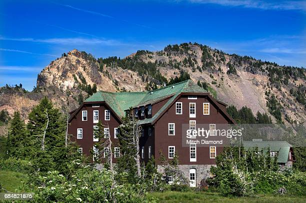 crater lake lodge - medford oregon stock photos and pictures