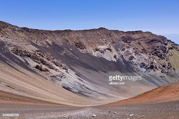 Crater of Haleakala Volcano Maui Hawaii USA