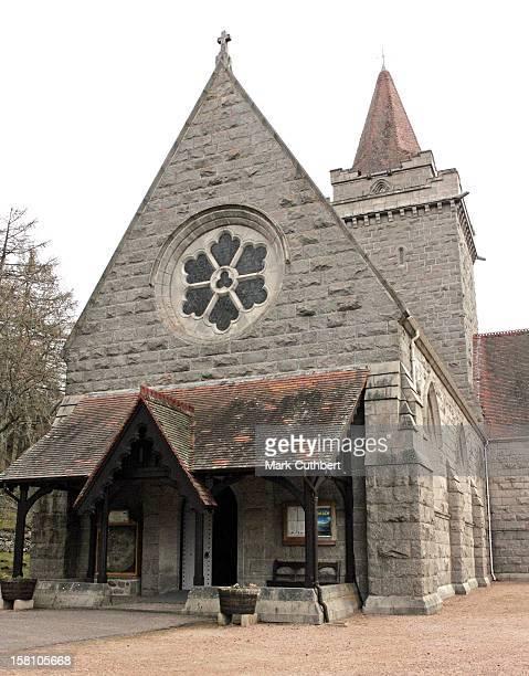 Crathie Parish Church. .