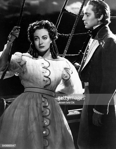 Crawford Joan Actress USA * Scene from the movie 'The Gorgeous Hussy'' with Robert Taylor Directed by Clarence Brown USA 1936 Produced by...