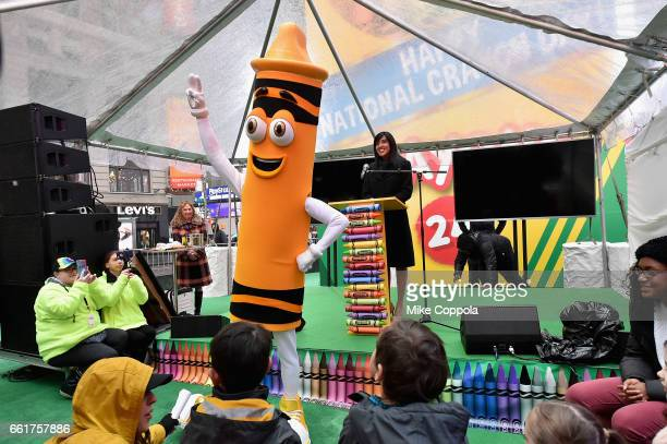 Crayola SVP of US and Global Marketing Melanie Boulden announces that Crayola will be retiring Dandelion from its iconic range to make room for a new...