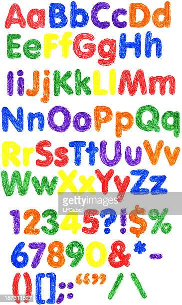 Cera alfabeto XXL