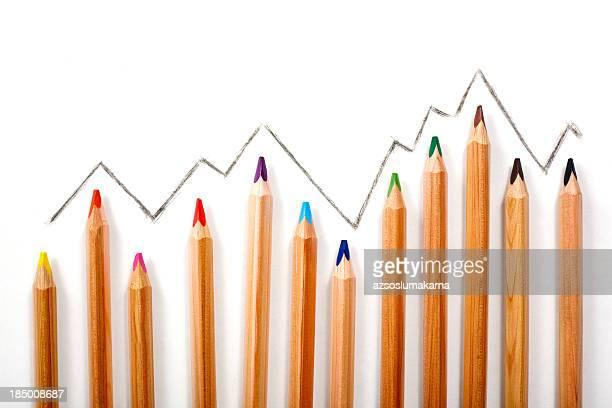 crayon pastel graphique