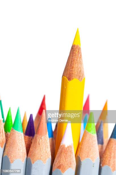 Crayon, Pencil, standout from the crowd business goals
