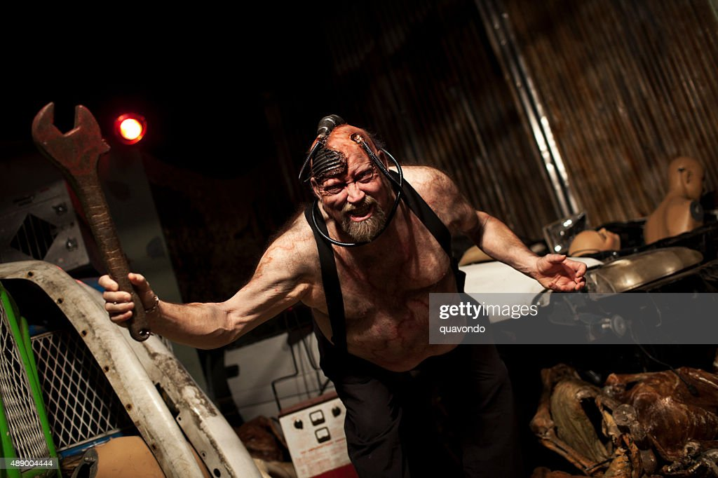 Crazy Angry Mad Max : Stock Photo