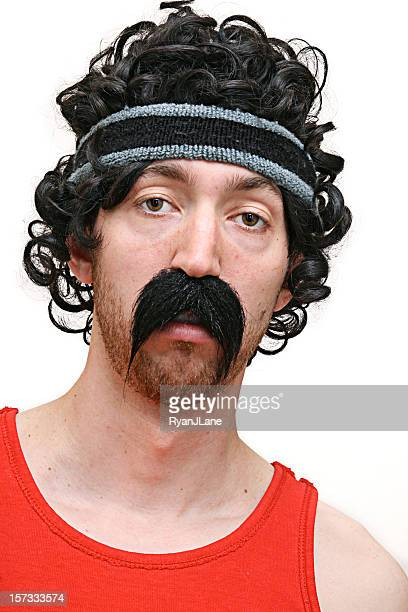 Pazzo atleta Biker anni'80 Guy