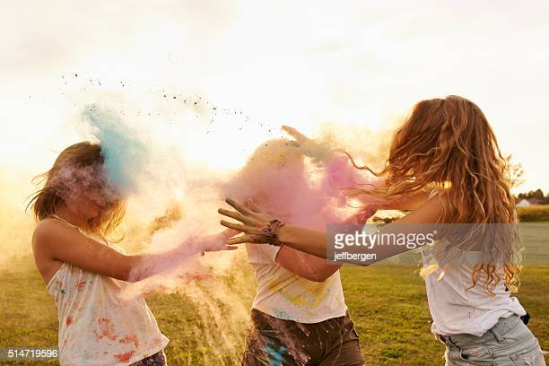 crazy, carefree, color filled days of youth - fight stock photos and pictures