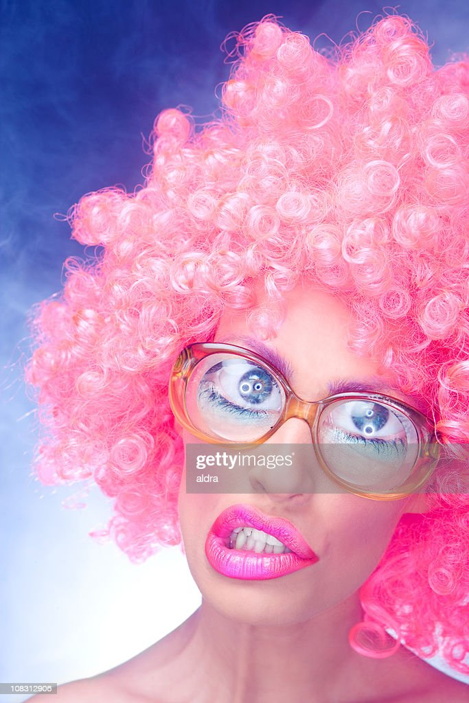 Crazy girl : Stock Photo