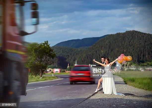 crazy Fare l'autostop