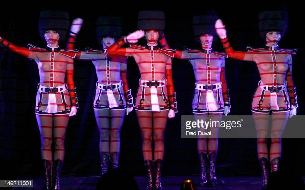 Crazy Horse Paris presents Forever Crazy at The Arts Club on June 12 2012 in London England
