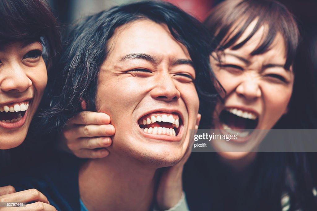 クレイジーな日本人 : ストックフォト