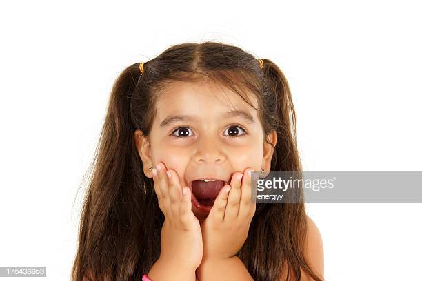 crazy little girl - small faces stock pictures, royalty-free photos & images