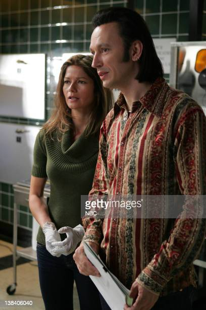 JORDAN Crazy Little Thing Called Love Episode 605 Pictured Jill Hennessy as Dr Jordan Cavanaugh Steve Valentine as Dr Nigel Townsend