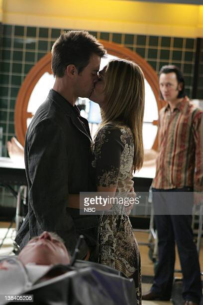 JORDAN Crazy Little Thing Called Love Episode 605 Pictured Josh Duhamel as Danny McCoy Molly Sims as Delinda Deline Steve Valentine as Dr Nigel...