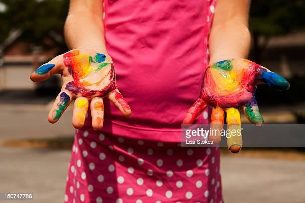 Crazy mixed up hands