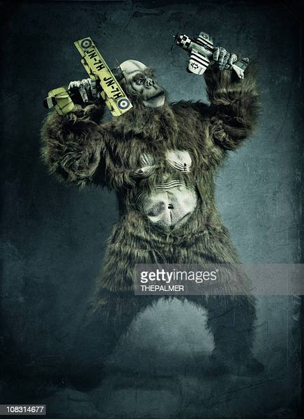 crazy monster - monkey suit stock pictures, royalty-free photos & images