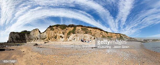 crazy skies all wild above me now - s0ulsurfing stock pictures, royalty-free photos & images