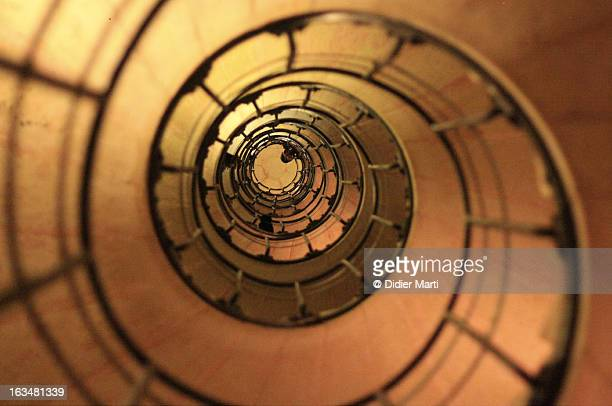 crazy stairs - continuous stock pictures, royalty-free photos & images