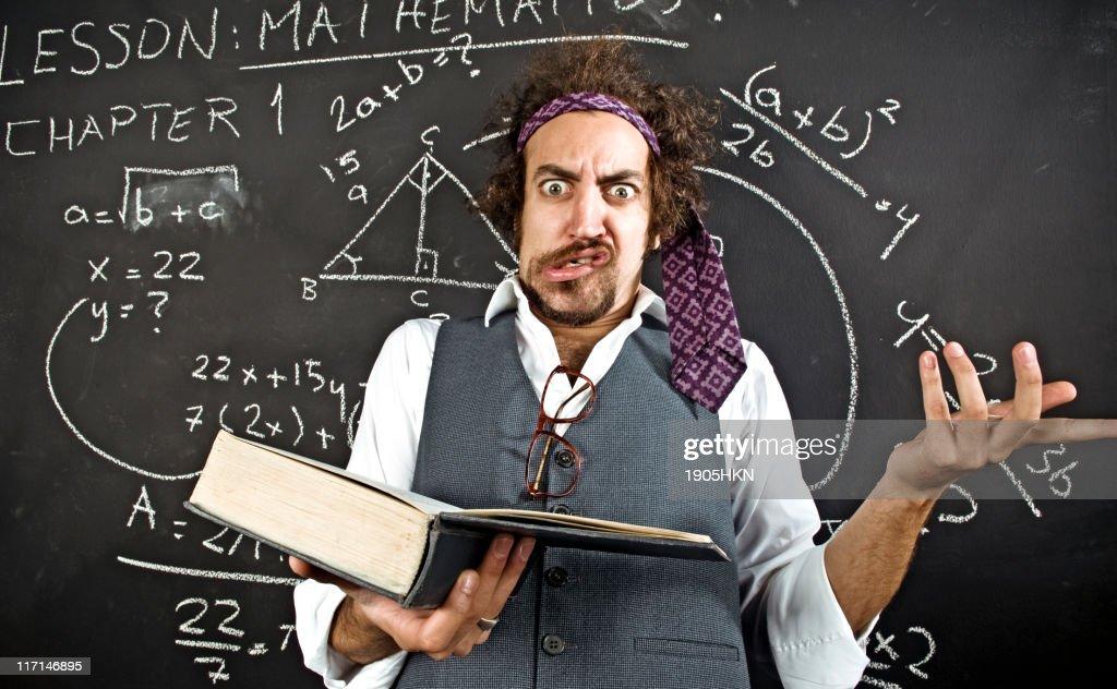 crazy student : Stock Photo