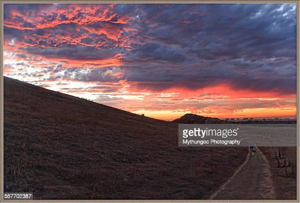 Crazy Sunset Colors