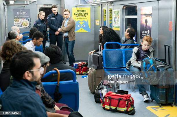 STATION 19 Crazy Train Jack and Maya are called to treat people stuck in a subway train and discover a potential threat to the passengers and...