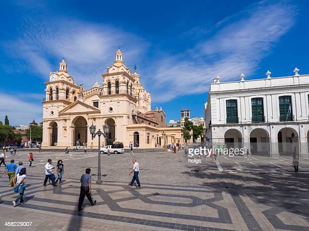 Cathédrale de Cordoue sur la Plaza San Martin, Cordoba, Argentine
