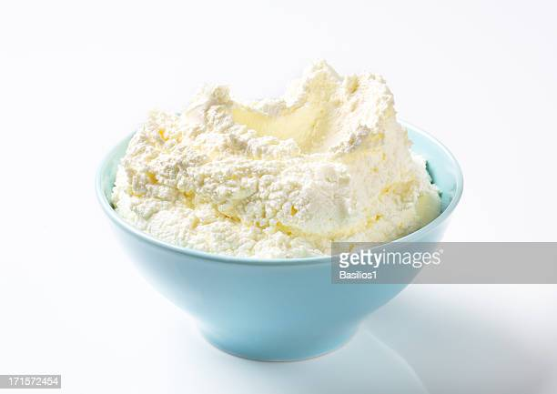 cream cheese in a bowl