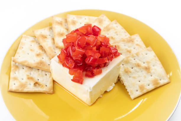 Saltine Wafers with Cheese