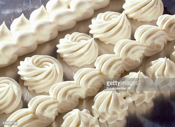 Cream decorations