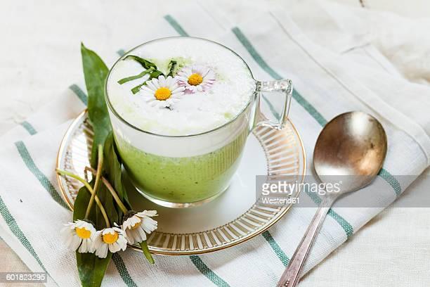 Cream of ramson soup