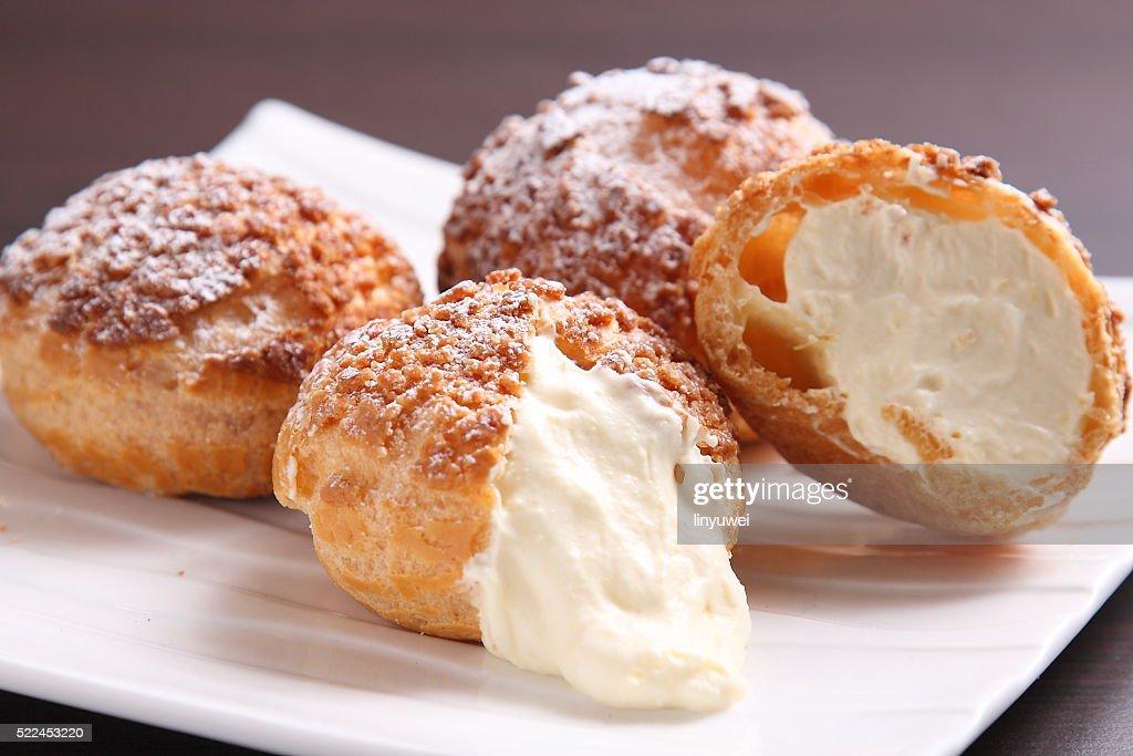 Cream Puffs : Stock Photo
