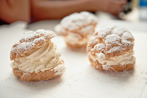 Cream Puffs - gettyimageskorea