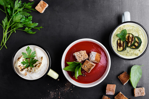 Cream soups variety - gettyimageskorea